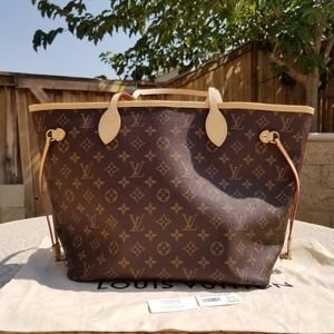 NEW LV neverfull guaranteed authentic